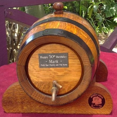 4 Litre Keg, Cask, Barrel