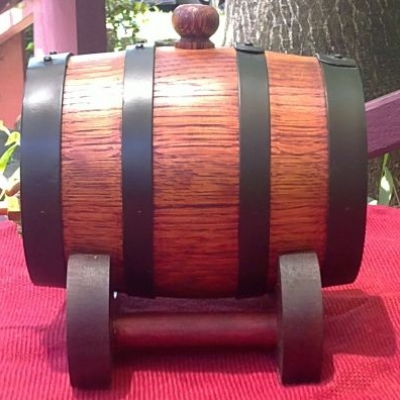 "700ml Mini ""Bundy Keg"", Cask, Barrel"